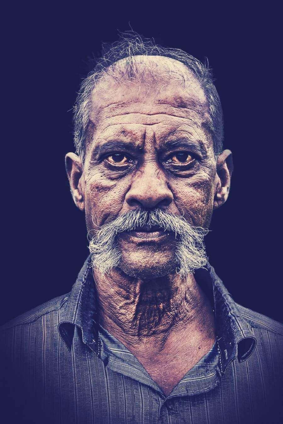 человек в Тамил Наду, Индии