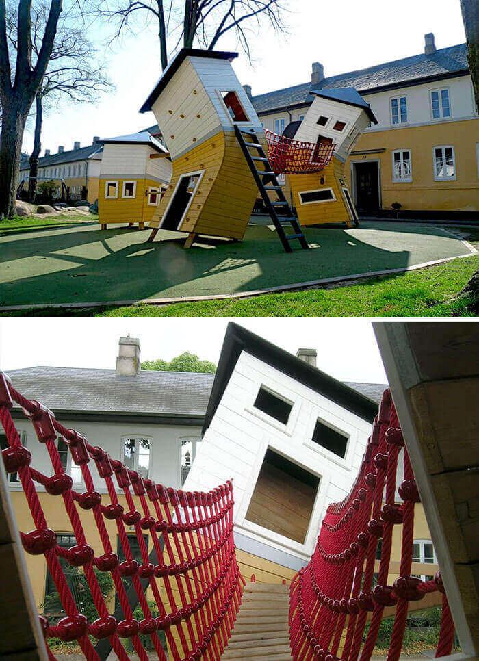 Кривые дома