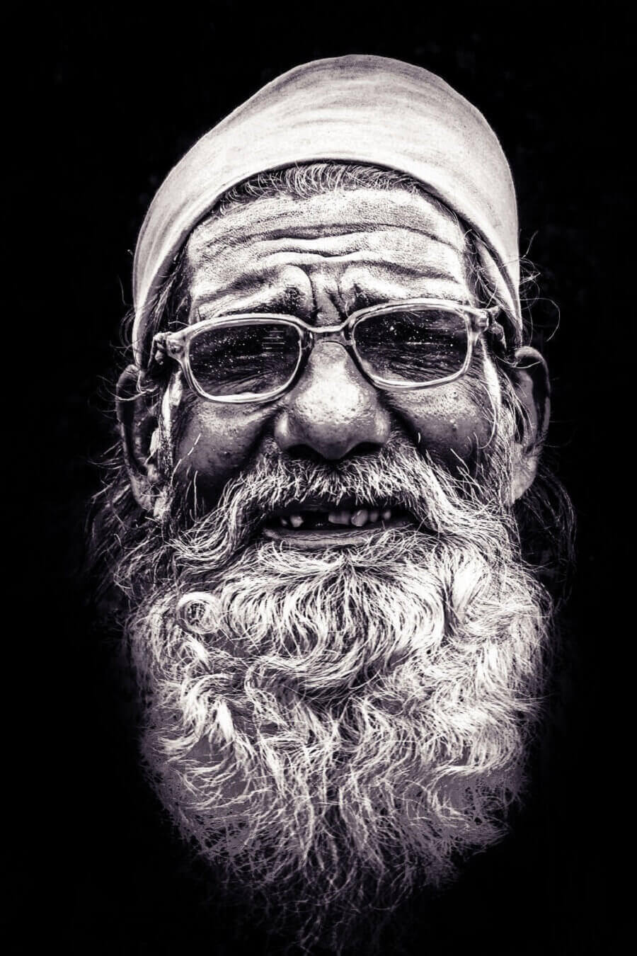 человек в Мадхья-Прадеш, Индия
