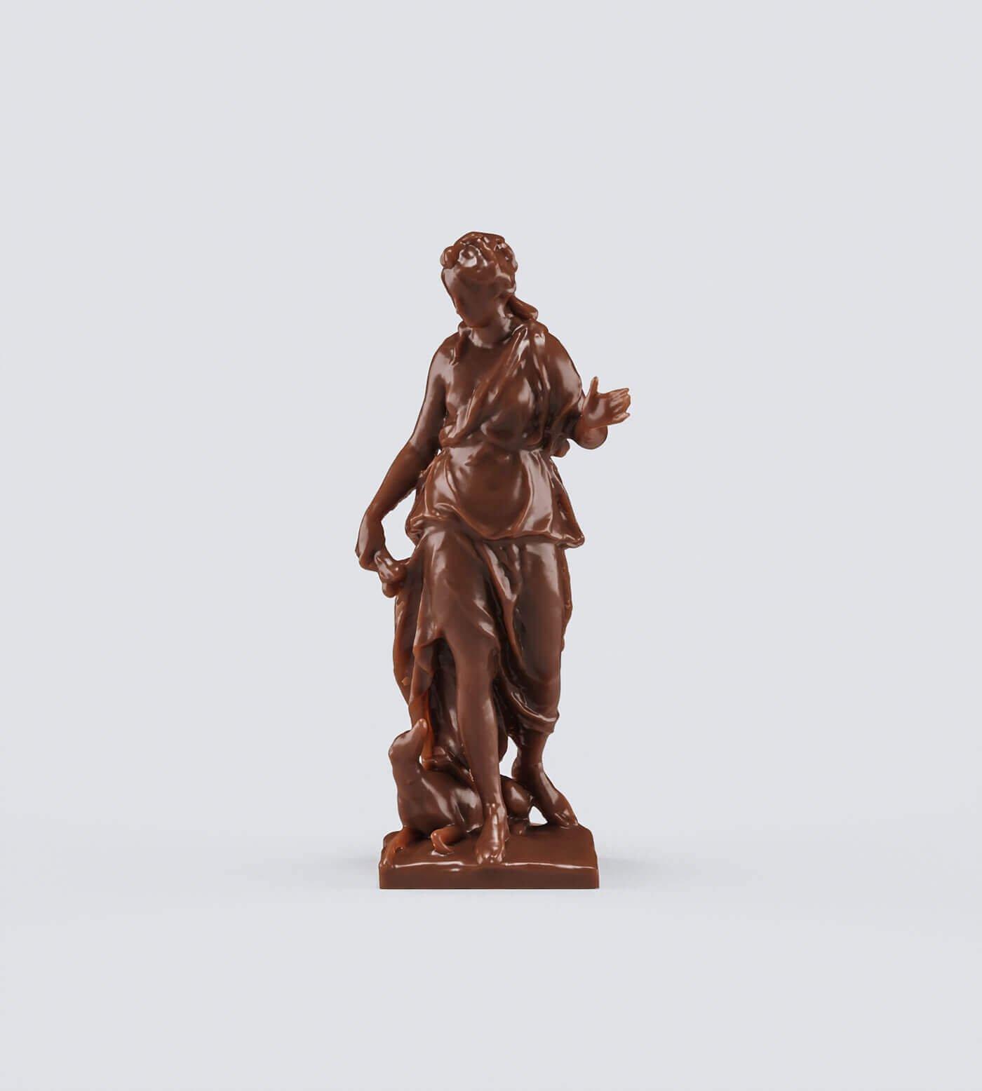 Шоколадная Статуэтка