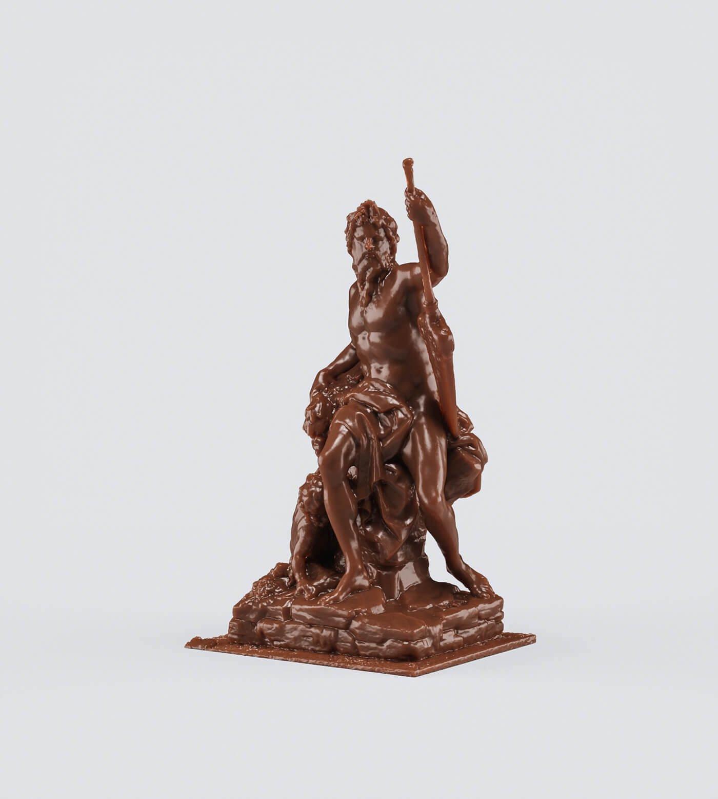 Шоколадные статуэтки