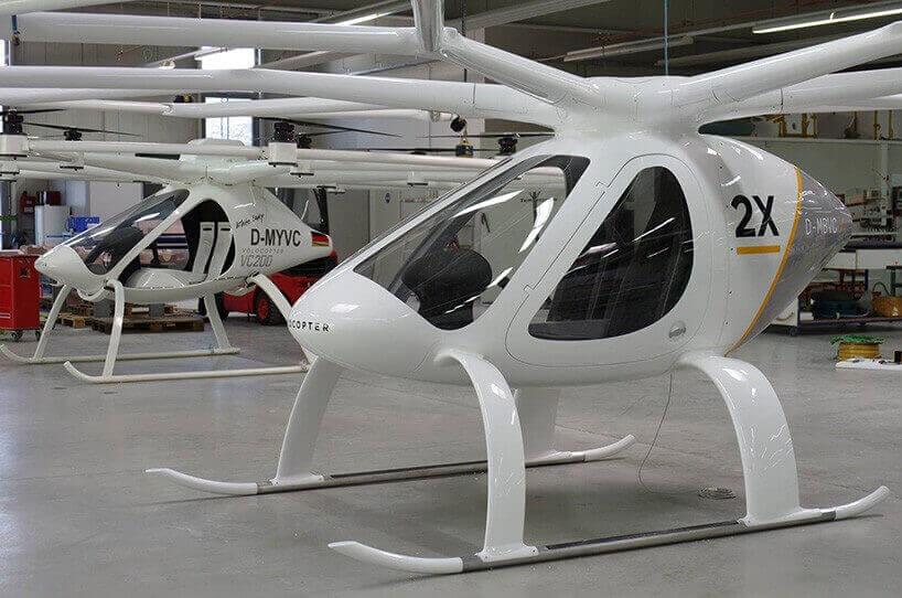 летающее такси Volocopter 2X