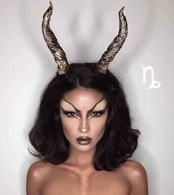 макияж зодиака Козерог