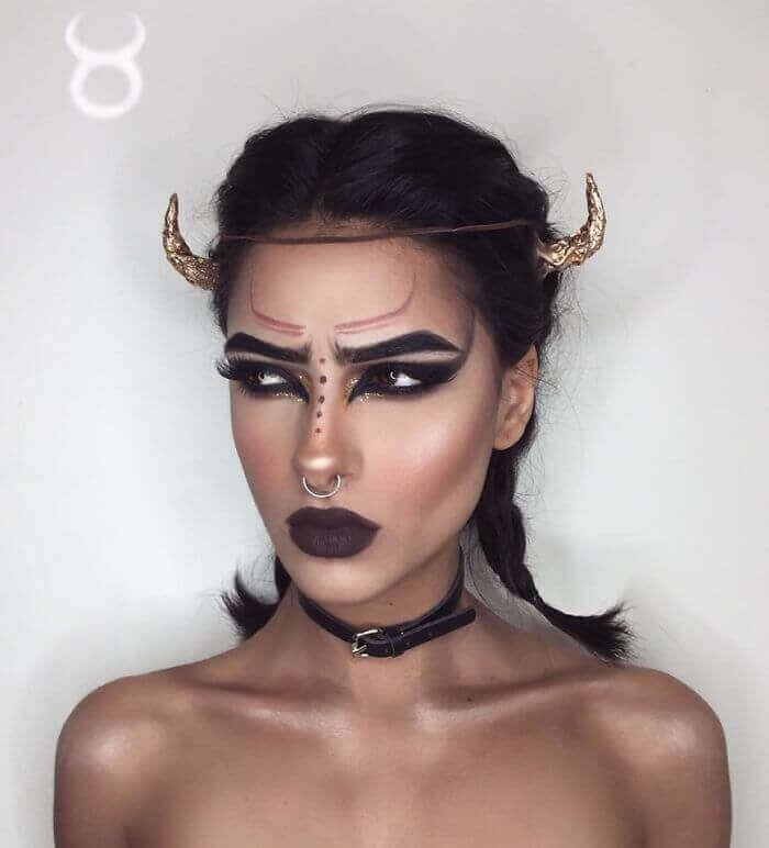 макияж зодиака Телец
