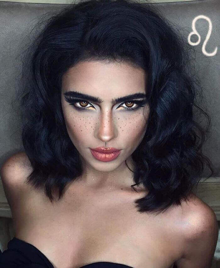 макияж зодиака Лев