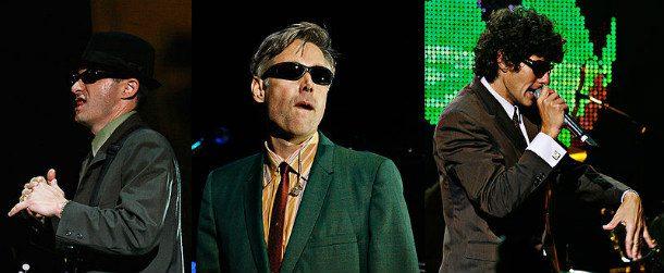 Адам Горовиц (Ad-Rock) и Майкл Даймонд (Mike D) из Beastie Boys