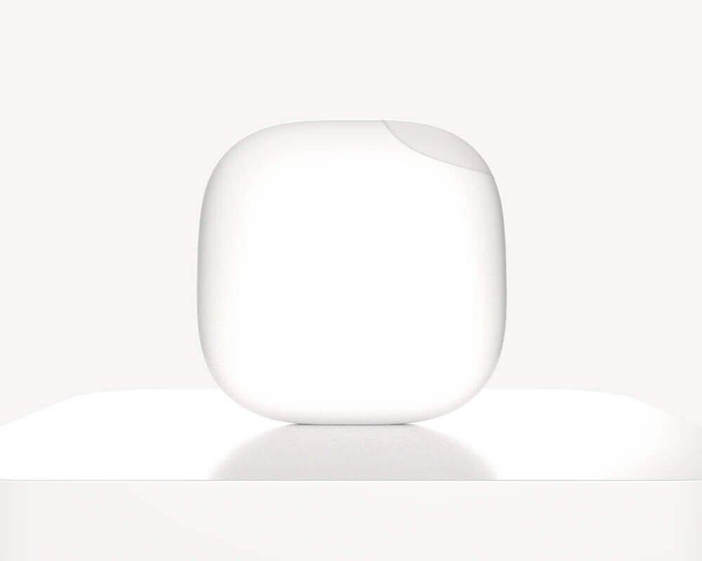 стильный белый беспроводной дверной звонок