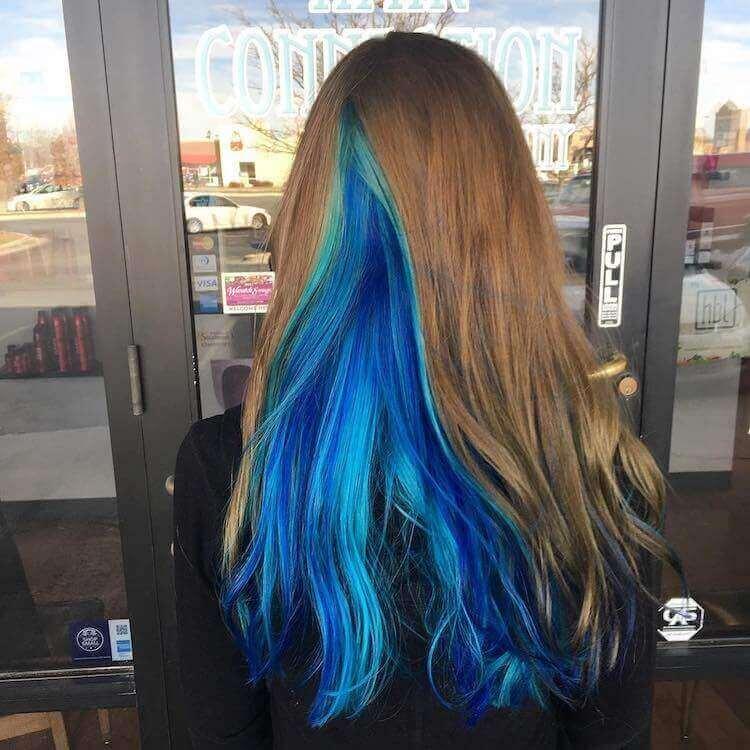 цвета и оттенки для кристальных волос