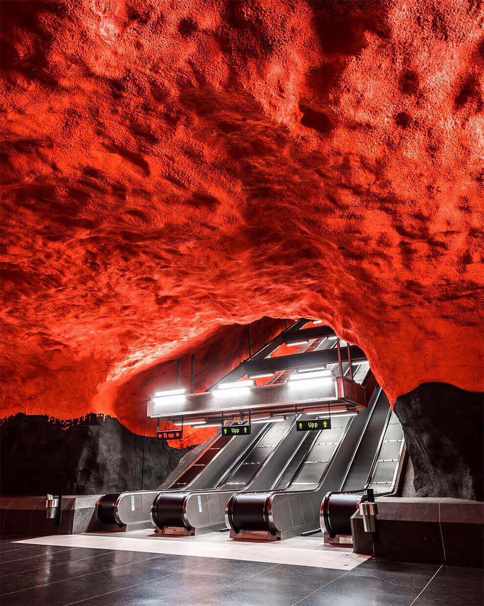 фотографий метро