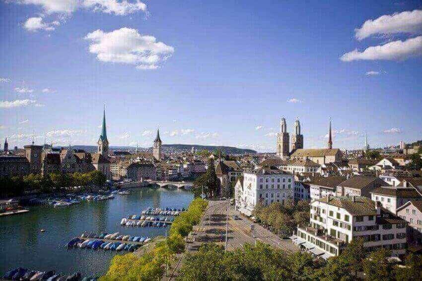 Цюрих, Швейцария - самые дорогие мегаполисы мира