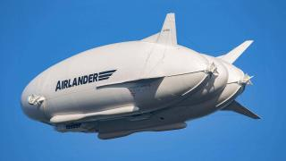 Гибридное воздушное транспортное средство Airlander 10