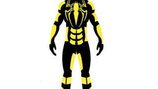 микс черного с желтым