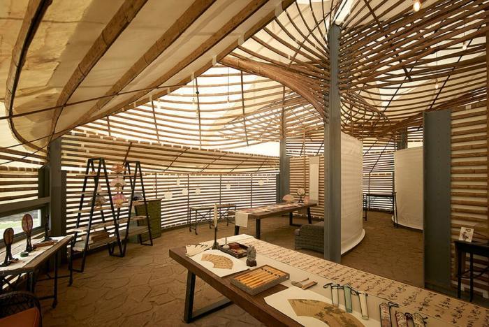 Первая Международная Бамбуковая Архитектурная Выставка