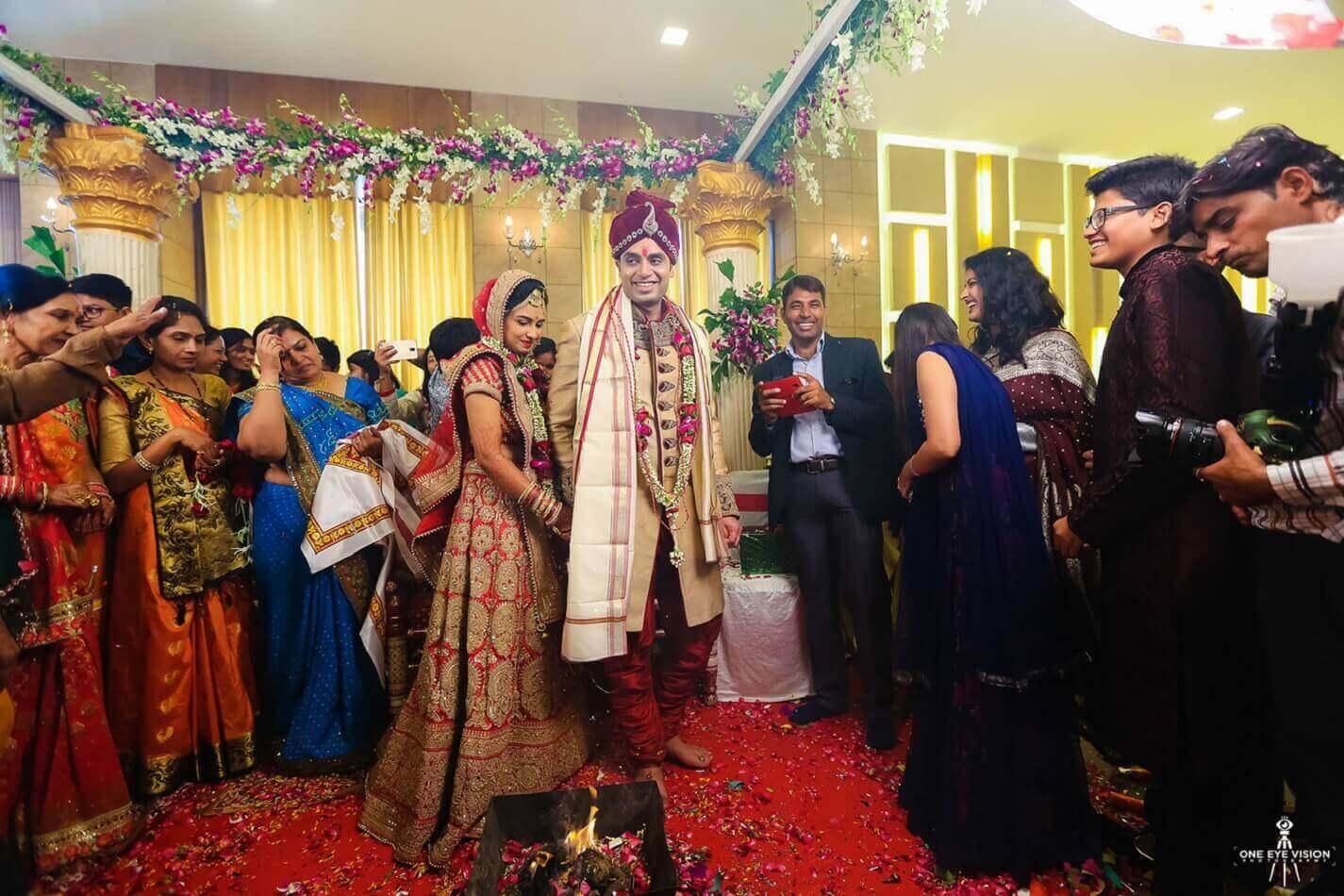 Бракосочетание Индийской свадьбы