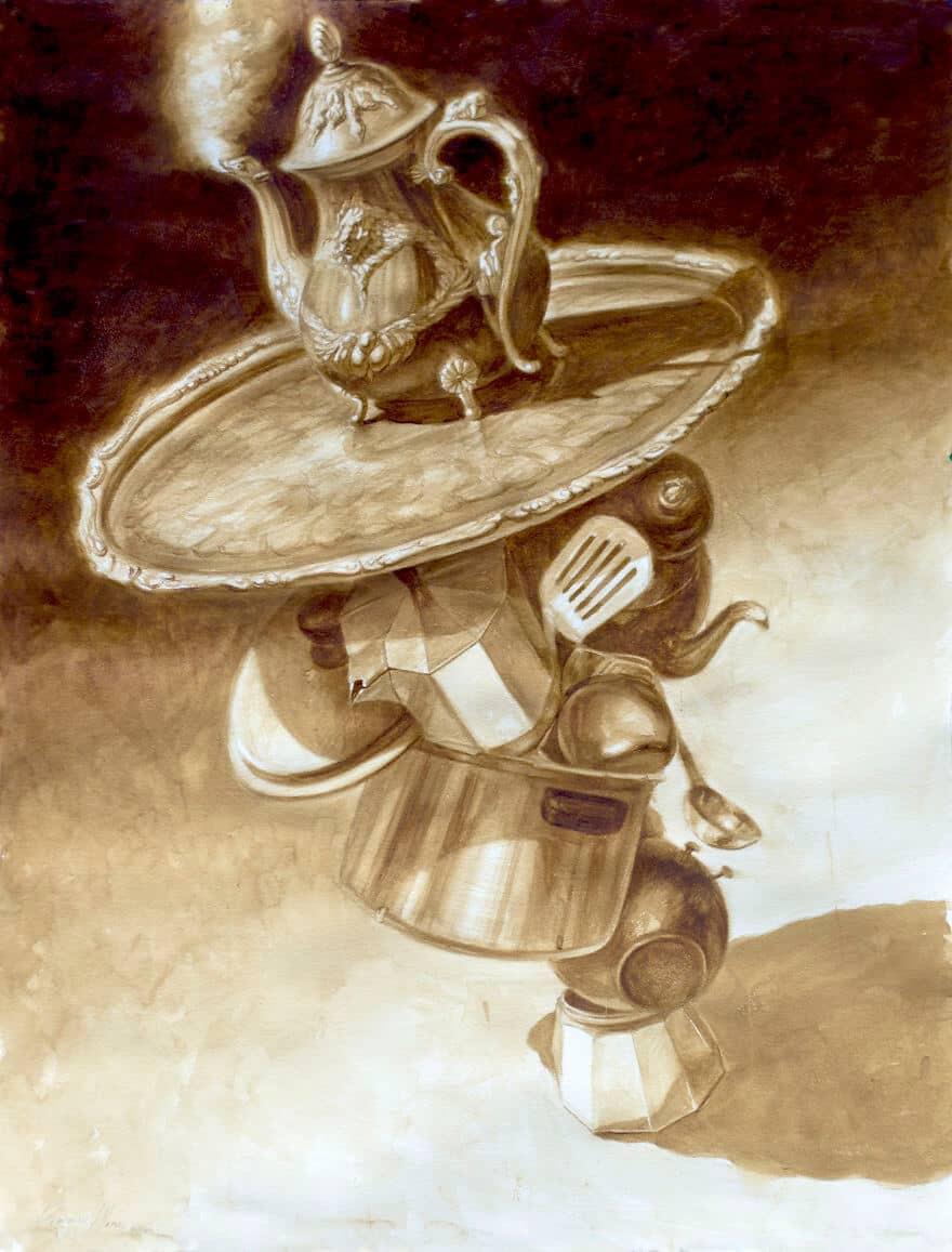Кофейные картины