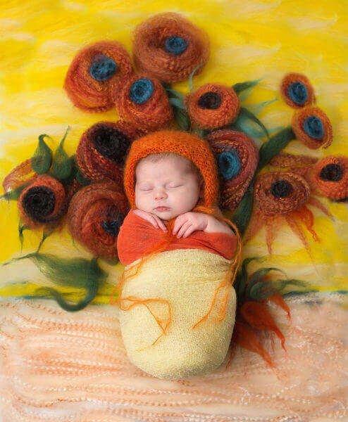 Креативные фотографии на основе шедевров живописи