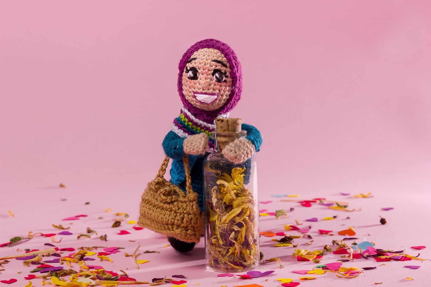 Оригинальная кукла ручной работы