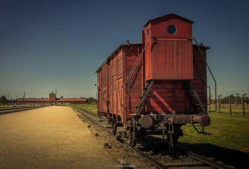 Освенцим в цвете, Угнанный поезд