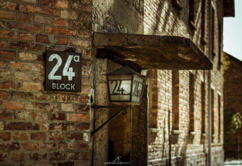 Блок 24а в Освенциме