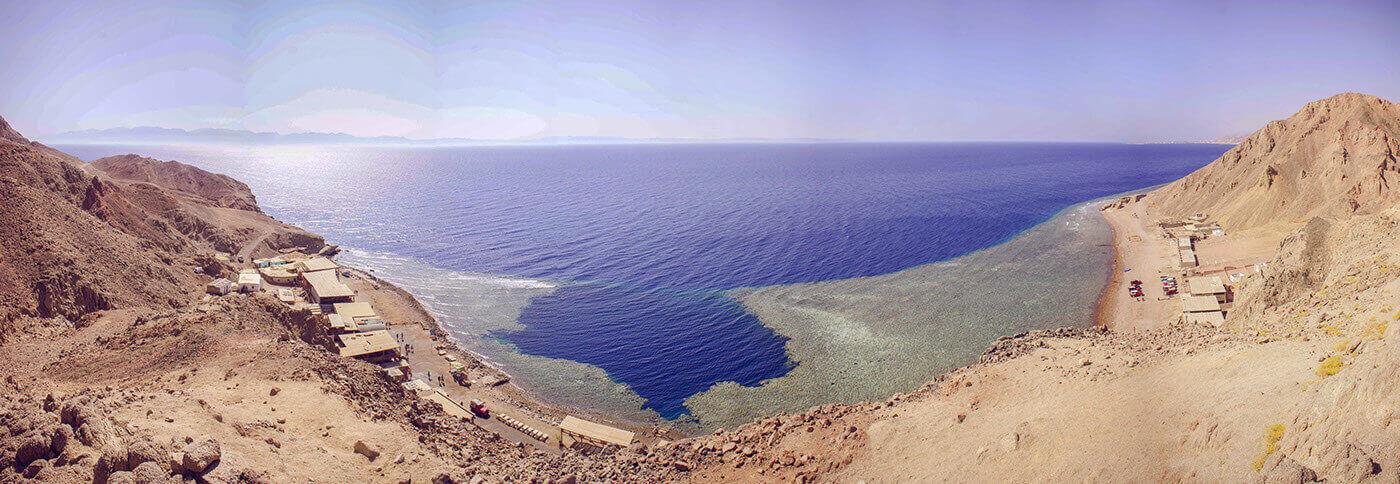 Голубая Дыра – «Кладбище дайверов» в Египте