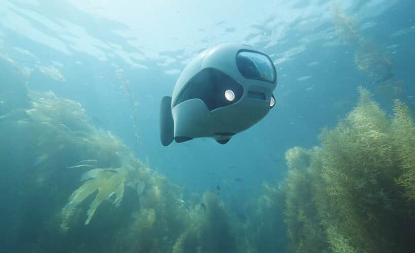 беспроводной подводный беспилотник BIKI