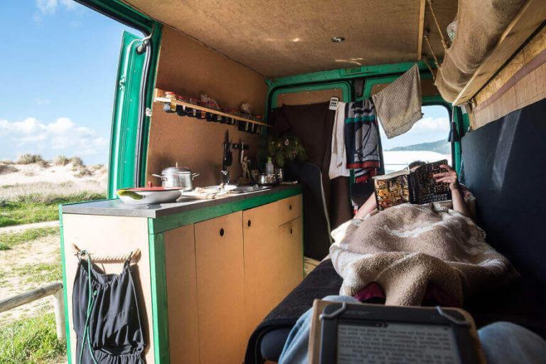 Дом из фургона