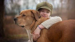 фото собак и детей