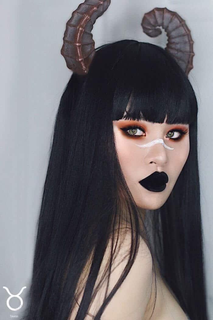 макияж вдохновленный знаком Телец