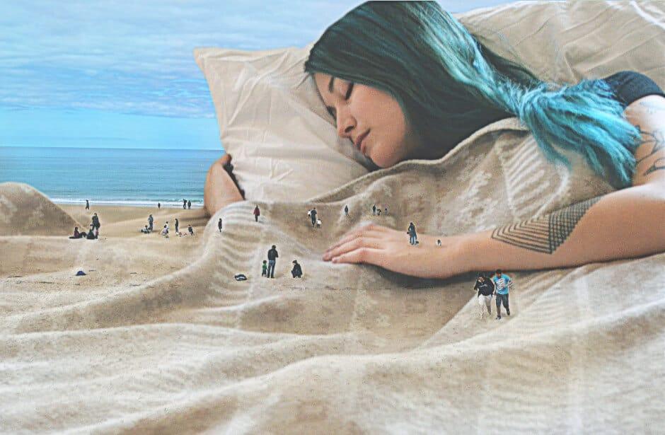 сюрреалистические фотокартины с двойственными изображениями