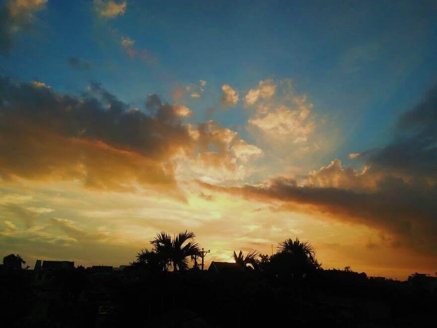 Чудесные закаты