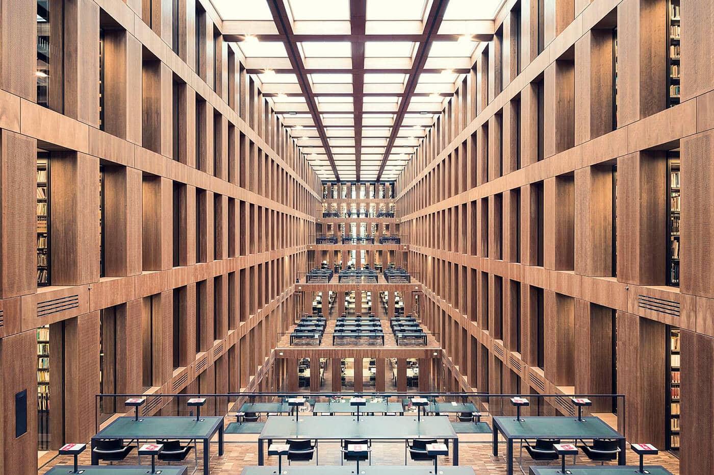 Библиотека «Центр братьев Гримм», Берлин, 2009