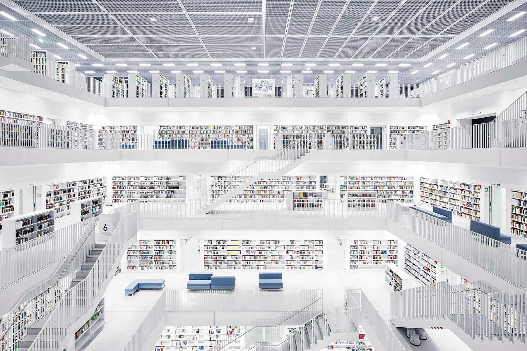 Городская библиотека Штутгарта, 2011