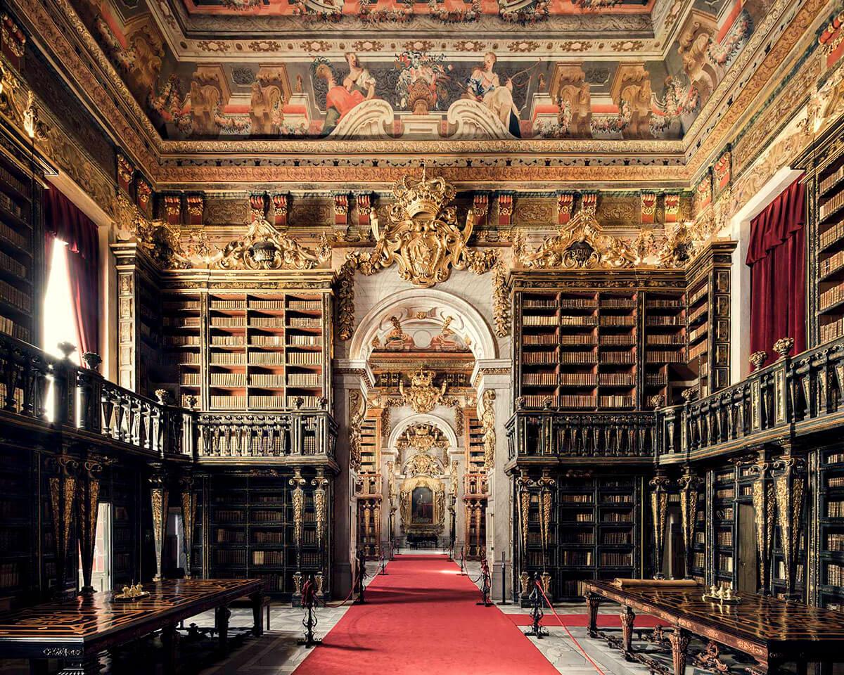 Библиотека Жуанина, Коимбра, 1728