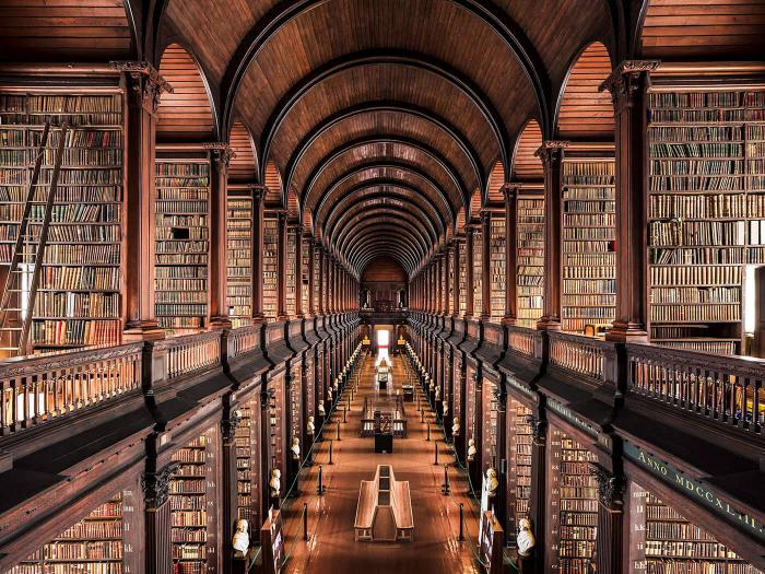 Величайшие библиотеки мира глазами фотографа Тибо Пуарье