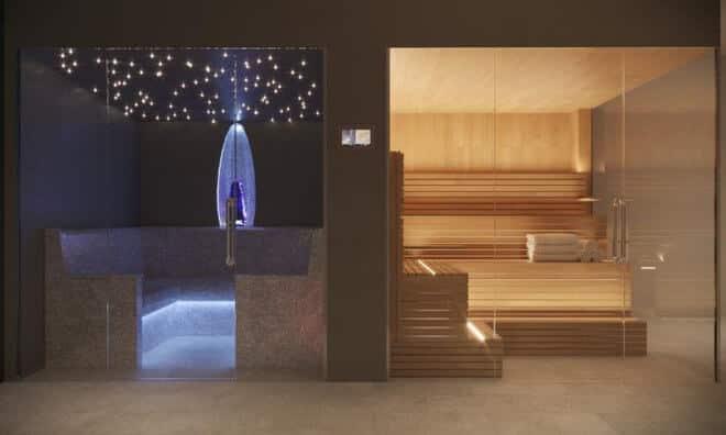 дизайн бассейнов в 2017 году, Встроенный спа
