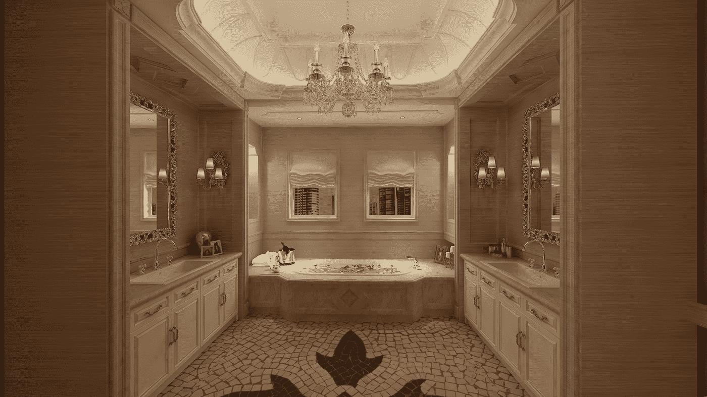 3D-дизайн ванной комнаты, фото 10
