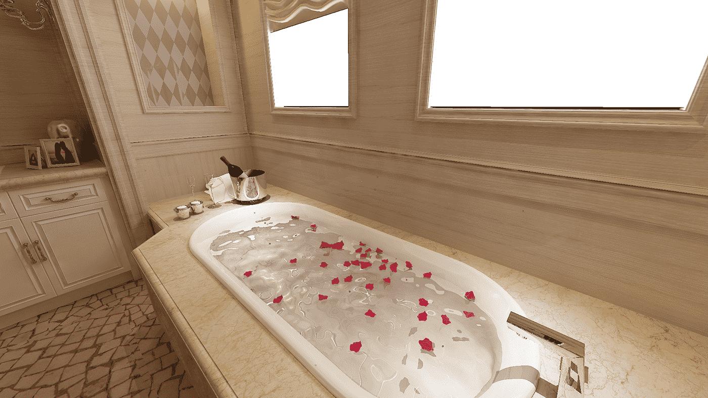 3D-дизайн ванной комнаты, фото 11