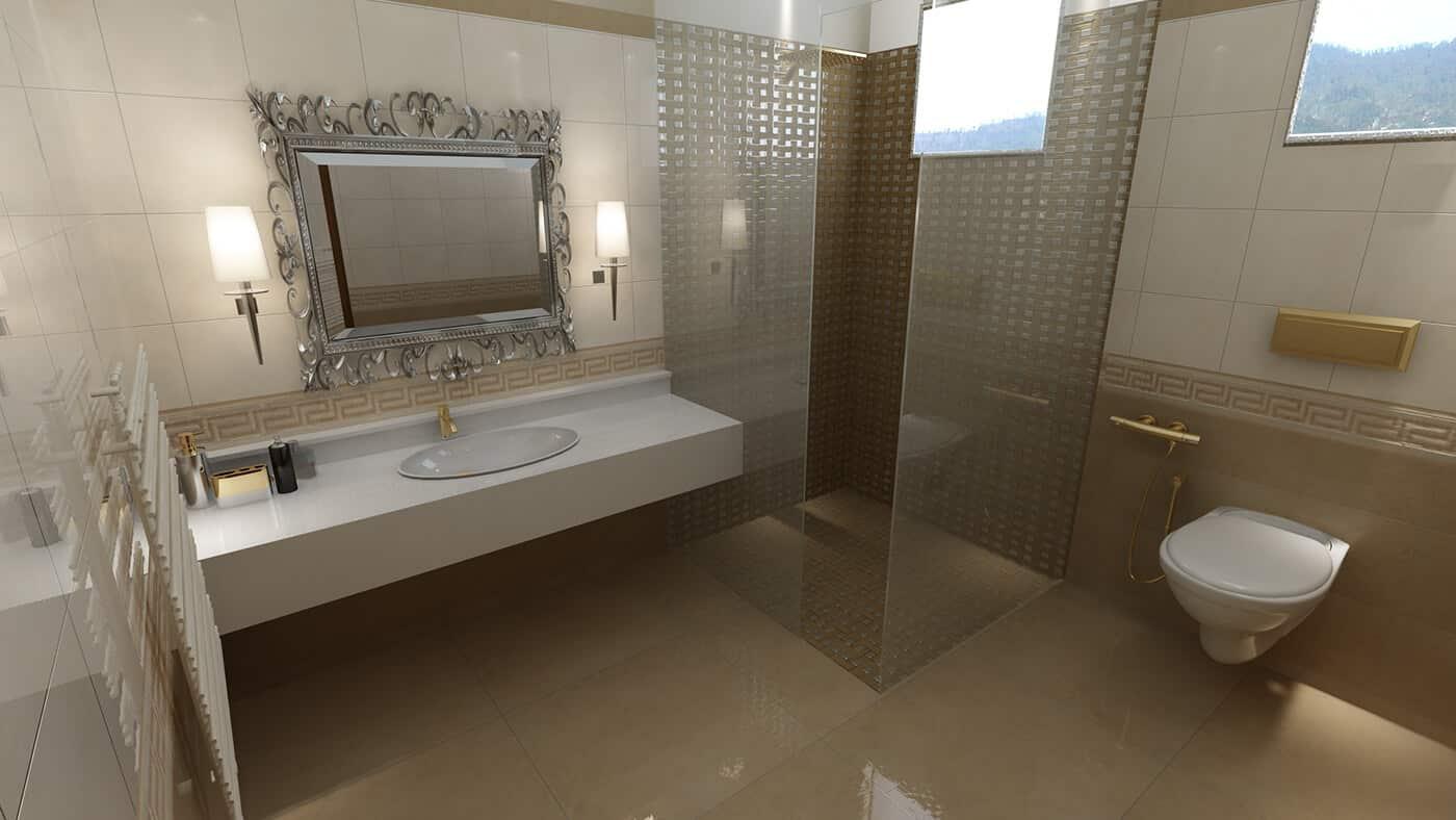 3D-дизайн ванной комнаты, фото 2