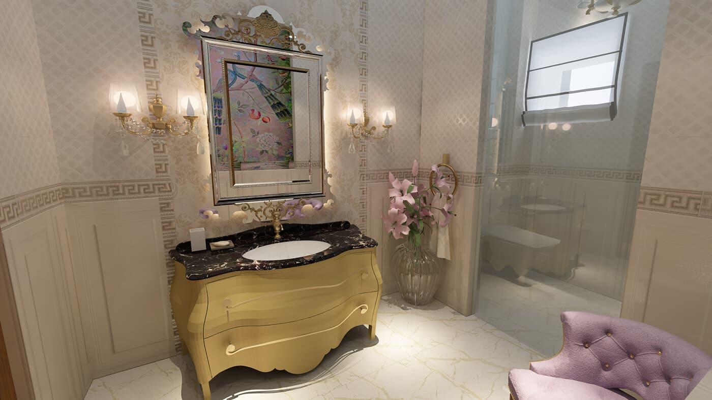 3D-дизайн ванной комнаты, фото 3