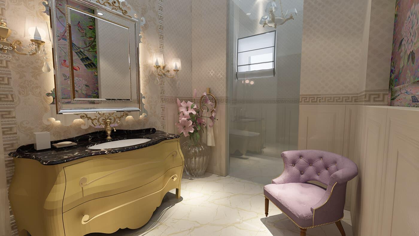 3D-дизайн ванной комнаты, фото 4