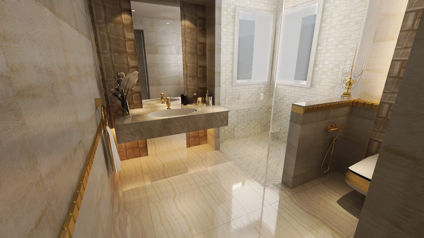 3D-дизайн ванной комнаты, фото 5