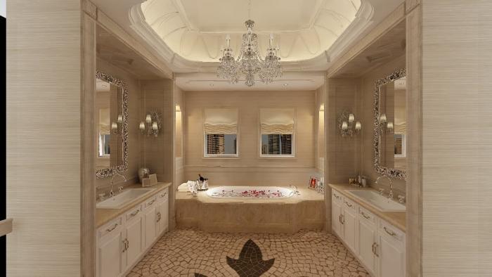 3D-дизайн ванной комнаты – оригинальное оформление креативной идеи
