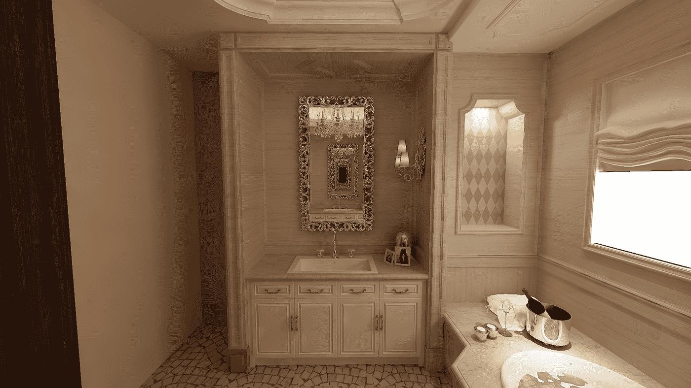 3D-дизайн ванной комнаты, фото 9