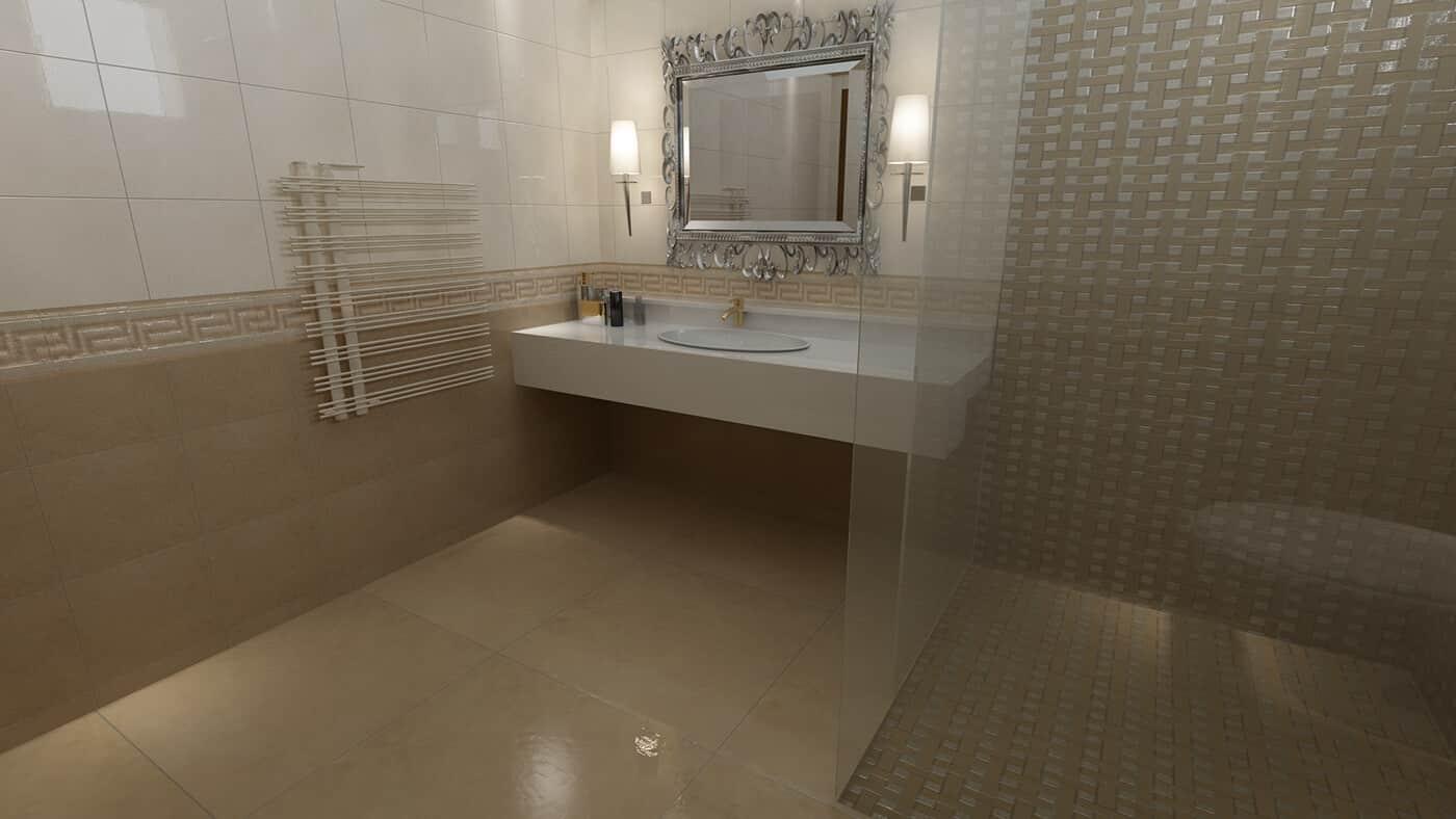 3D-дизайн ванной комнаты, фото 1