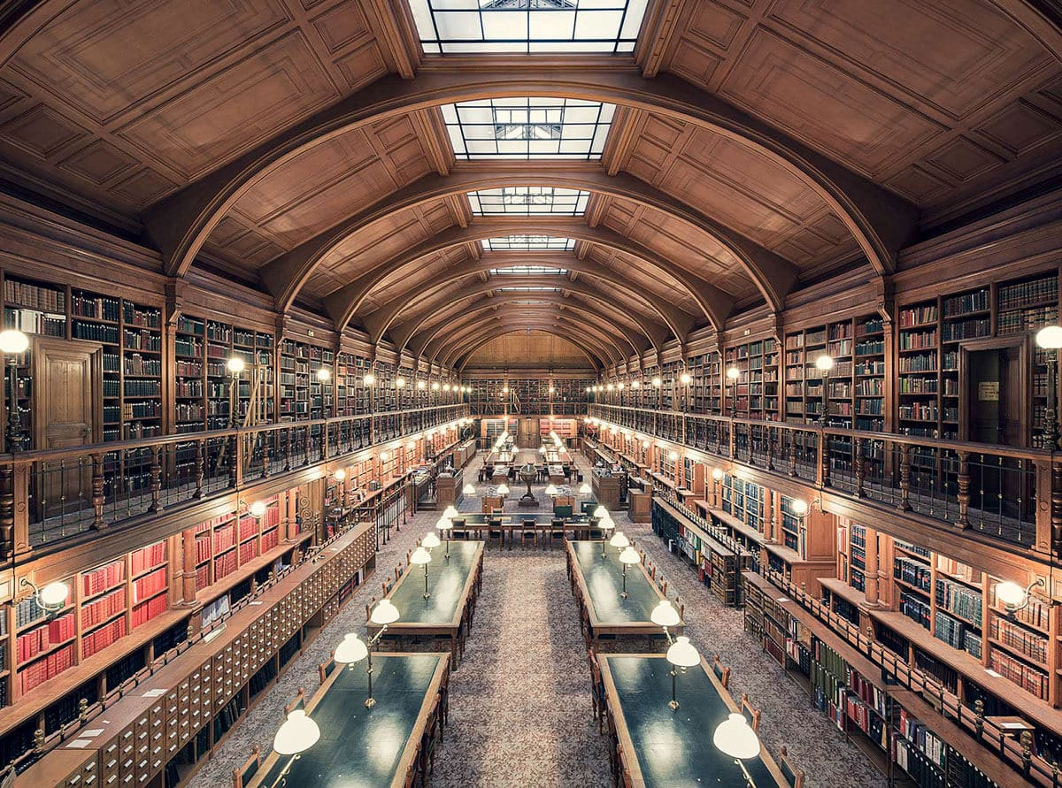 Библиотека Отель де Вилль, Париж, 1890