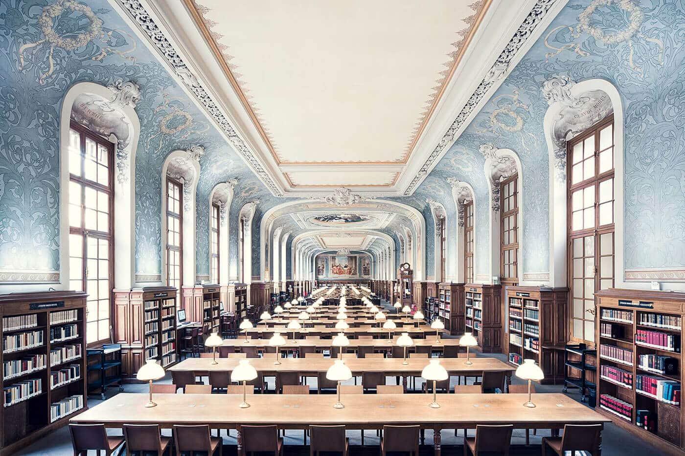 Библиотека Сорбонны, зал Жаклин де Рамиле, Париж, 1897