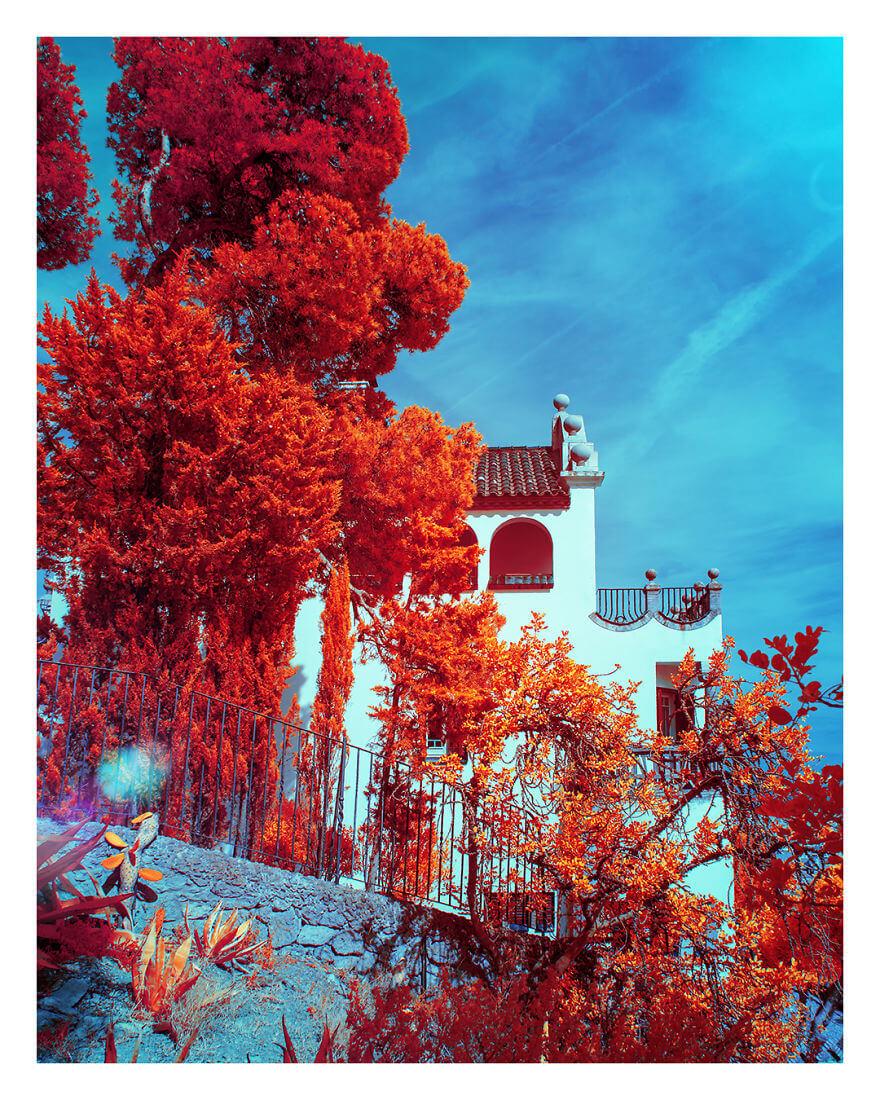 Барселона сквозь призму цветных фильтров