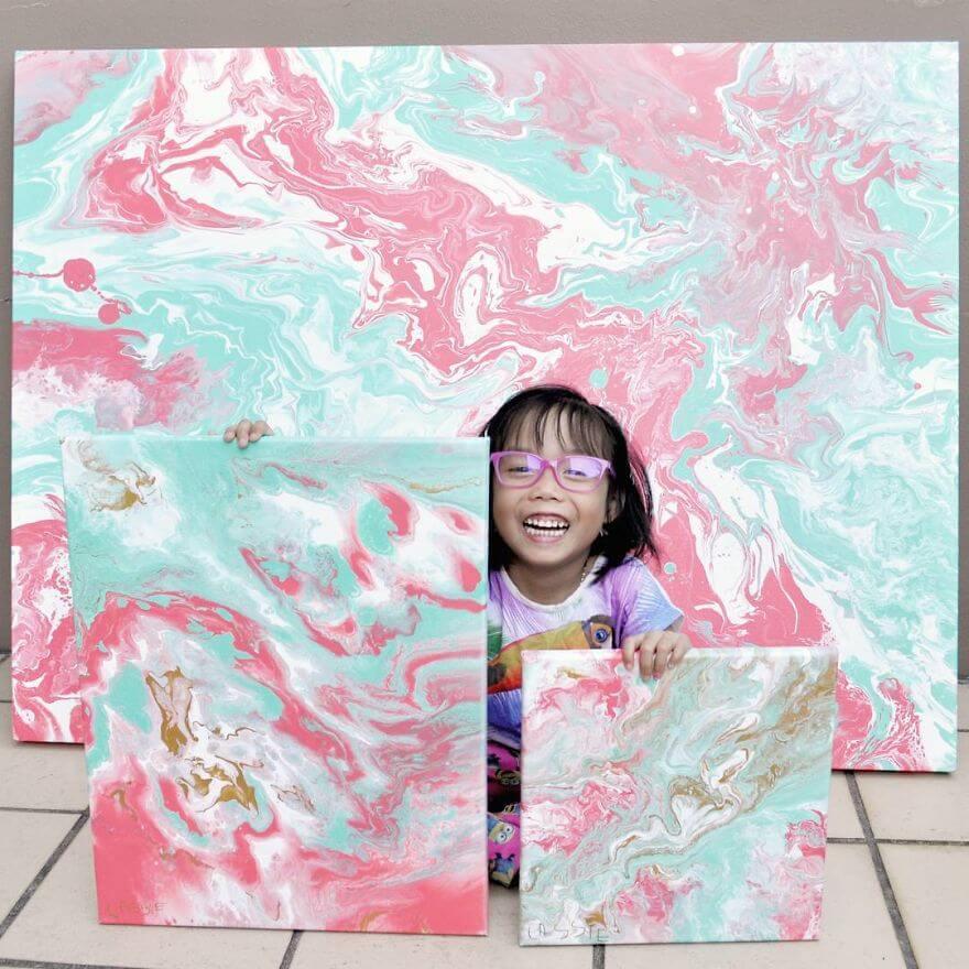 Картины 5-летней девочки