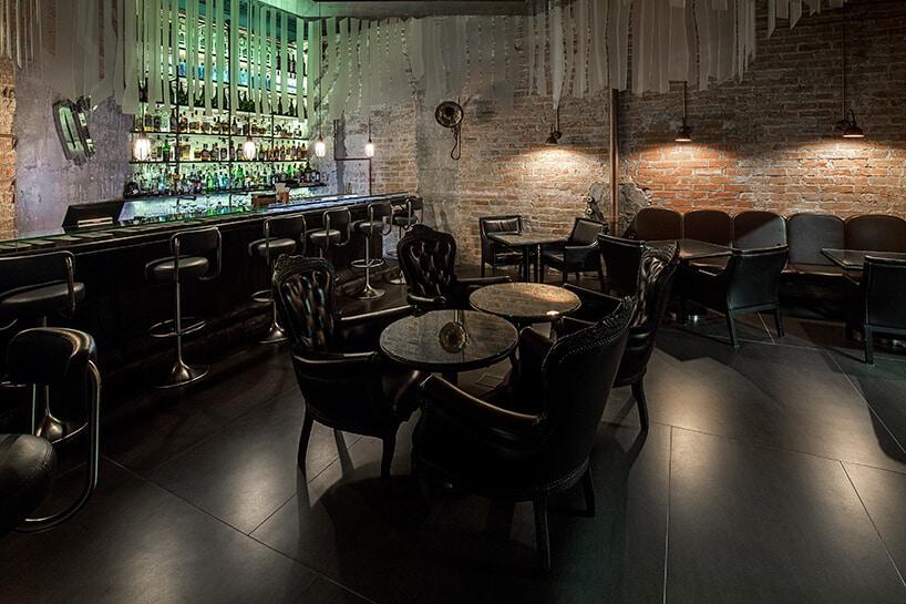 Оригинальный интерьер барселонского ресторана Enigma