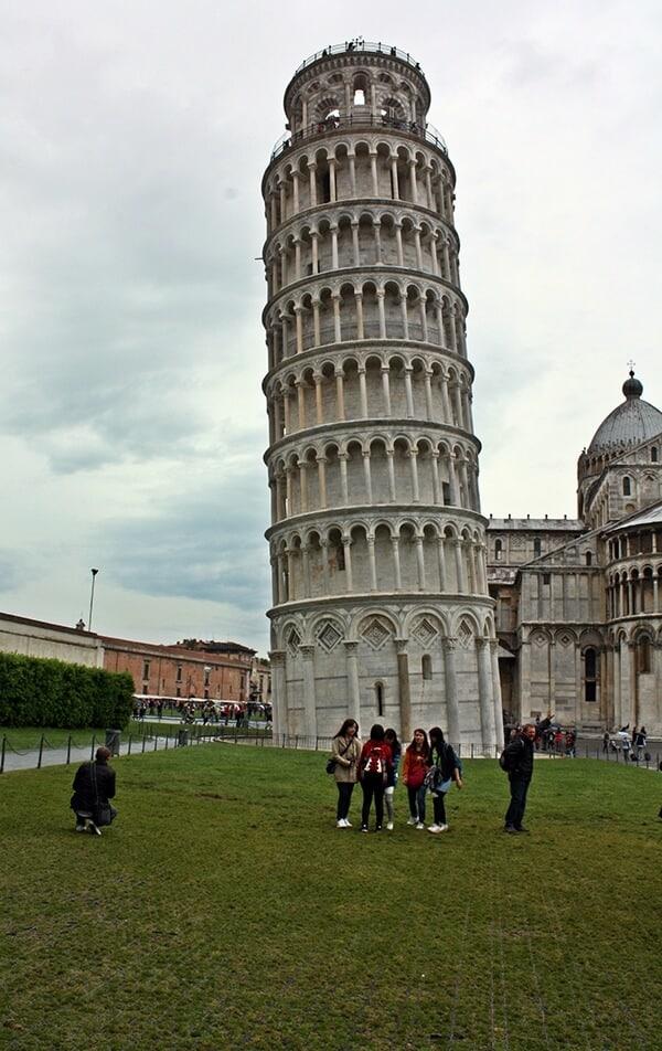 Пизанская башня - интересные факты, фото 1
